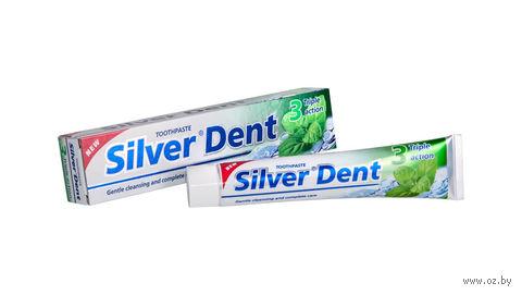 """Зубная паста """"Тройное действие"""" (100 мл) — фото, картинка"""
