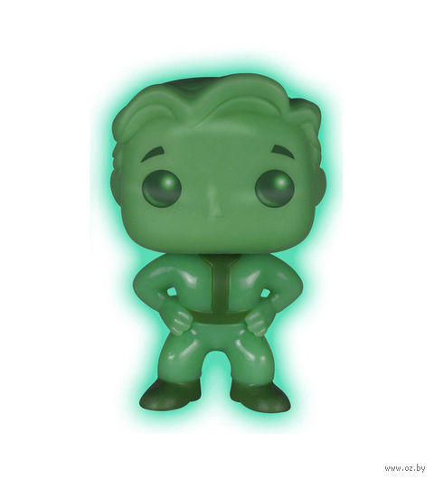 "Фигурка POP ""Fallout. Vault Boy Green Glow-In-The-Dark Exclusive"" (9,5 см)"