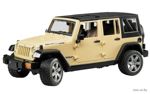 "Модель машины ""Внедорожник Jeep Wrangler Unlimited Rubicon"" (масштаб: 1/16)"