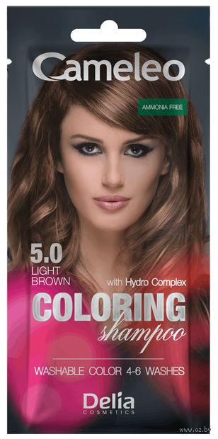 Оттеночный шампунь для волос (тон: 5.0; 40 мл) — фото, картинка