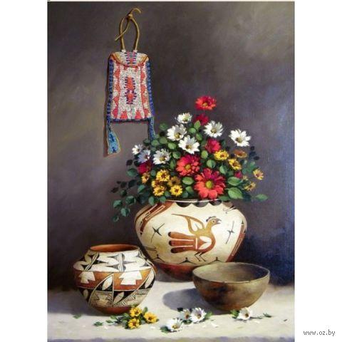"""Алмазная вышивка-мозаика """"Греческий натюрморт"""" (400x550 мм) — фото, картинка"""