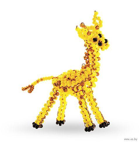 """Фигурка из бисера """"Жираф"""""""