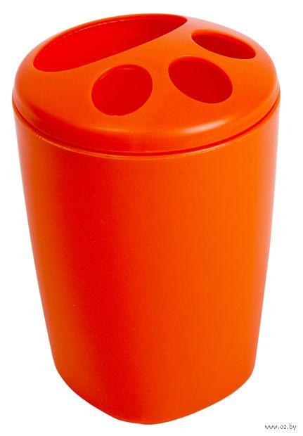 """Подставка для зубных щеток """"Aqua"""" (мандарин) — фото, картинка"""