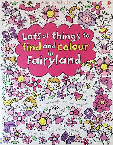 Lots of Things to Find and Colour in Fairyland — фото, картинка