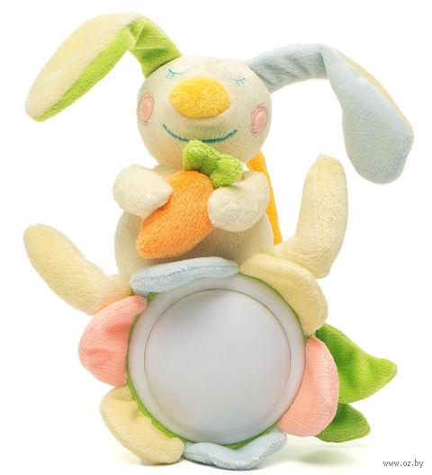 """Мягкая музыкальная игрушка """"Сонный зайчик"""" (20 см) — фото, картинка"""