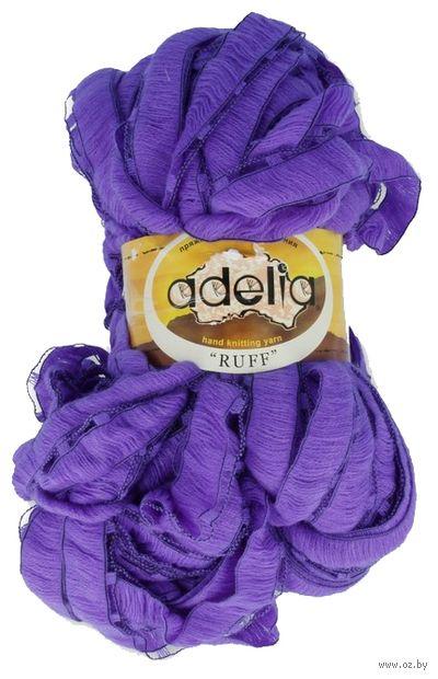 "Пряжа ""Adelia. Ruff №9"" (150 г; 60 м; фиолетовый) — фото, картинка"