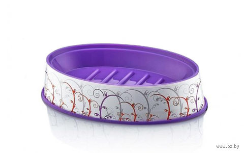 Подставка для мыла пластмассовая (15*9,5*3 см; арт. D051-X02)