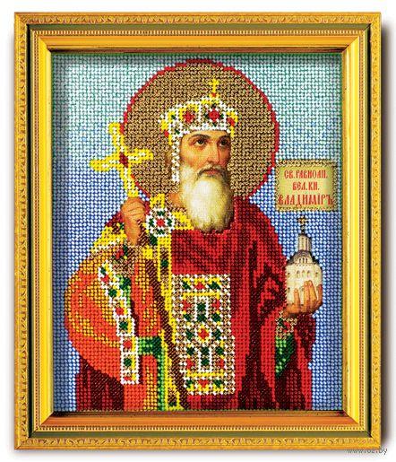"""Вышивка бисером """"Святой Владимир князь Киевский"""""""