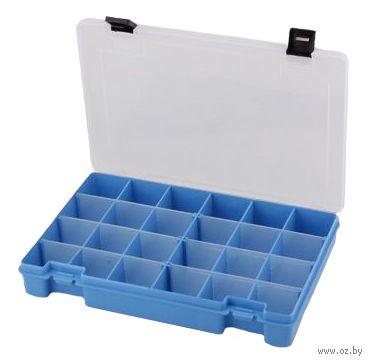Органайзер для рукоделия (голубой; 6-24 отделения) — фото, картинка