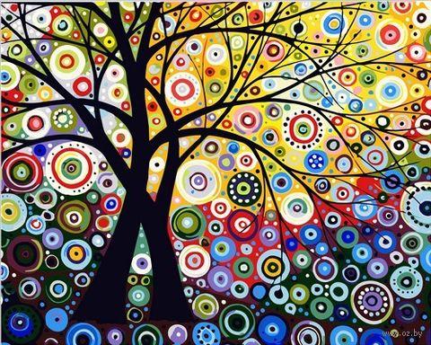 "Картина по номерам ""Денежное дерево"" (500х650 мм) — фото, картинка"