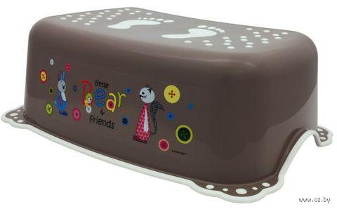 """Подставка детская """"Мишка и друзья"""" (коричневая) — фото, картинка"""