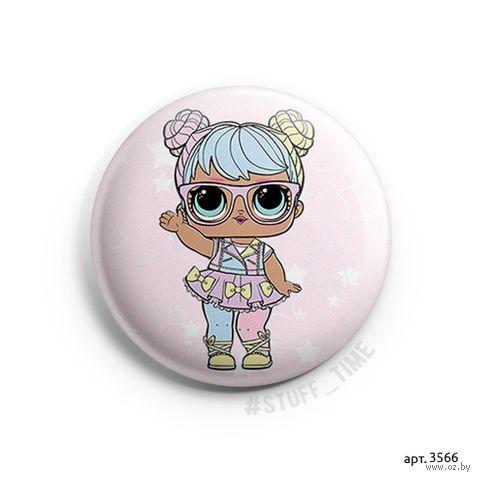 """Значок маленький """"Кукла LOL. Bon Bon"""" (арт. 3566) — фото, картинка"""