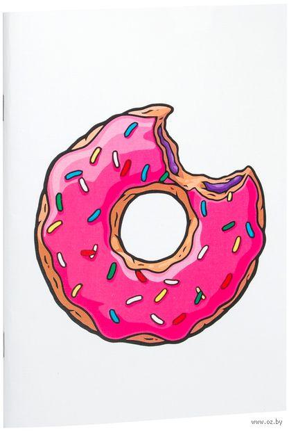 """Блокнот """"Пончик. Симпсоны"""" (А5; арт. 001) — фото, картинка"""