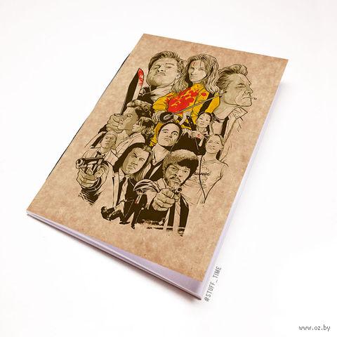 """Блокнот крафт """"Тарантино"""" (А5; арт. 443) — фото, картинка"""