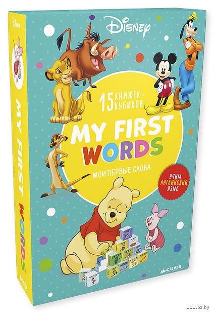 My first words (комплект из 15 развивающих книжек-кубиков) — фото, картинка