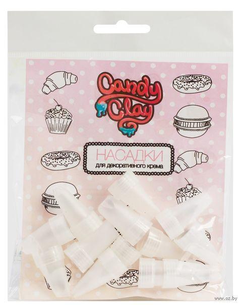 """Набор насадок для тюбиков с полимерным кремом """"Candy Clay"""" (13 шт.) — фото, картинка"""