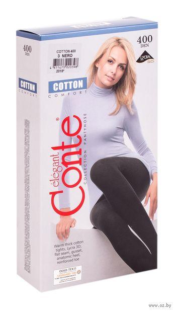 "Колготки женские теплые ""Conte. Cotton 400"""