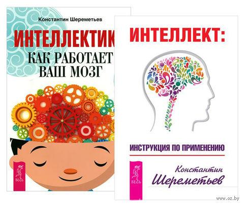 Интеллект. Интеллектика (комплект из 2-х книг) — фото, картинка
