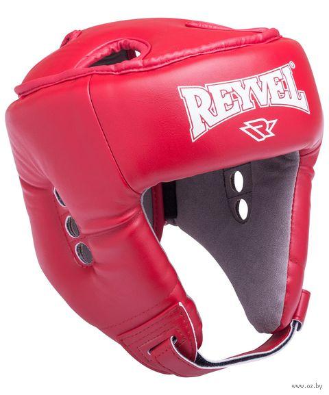Шлем открытый (M; красный; арт. RV-302) — фото, картинка