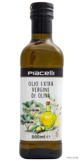 "Масло оливковое ""Piacelli. Extra Virgin"" (500 мл) — фото, картинка"