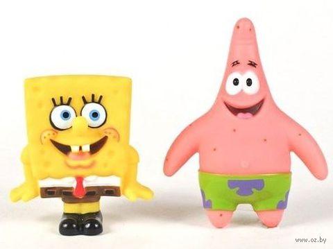"""Набор игрушек для купания """"Губка Боб и Патрик"""" (2 шт)"""