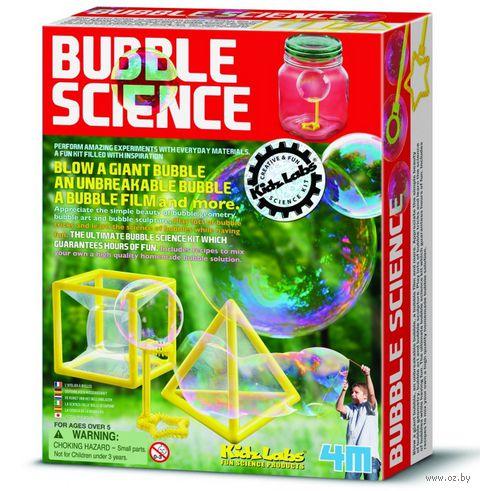 """Набор для опытов с мыльными пузырями """"Волшебные пузыри"""""""