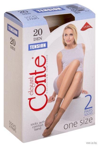 """Носки женские полиамидные """"Conte. Tension 20"""" (2 пары)"""