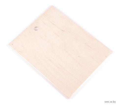 Доска разделочная деревянная (165х210 мм)