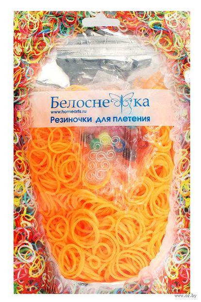 """Набор резиночек для плетения """"Персиковый. 1000"""""""