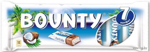 "Батончик шоколадный ""Bounty"" (192,5 г) — фото, картинка"