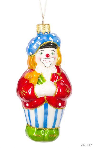 """Ёлочная игрушка """"Клоун"""" (арт. Ф-59) — фото, картинка"""