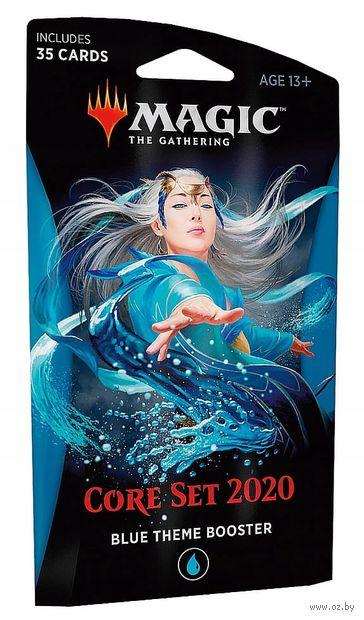 "Бустер ""Magic the Gathering. Core Set 2020. Blue Theme Booster"" (35 карт) — фото, картинка"