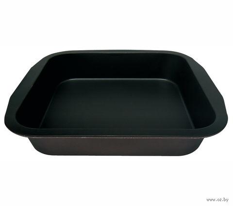 Форма для выпекания металлическая с антипригарным покрытием (26*27*5 см)