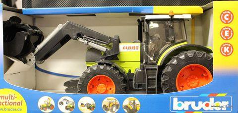 """Модель машины """"Трактор Claas Atles c ковшом"""" (масштаб: 1/16)"""