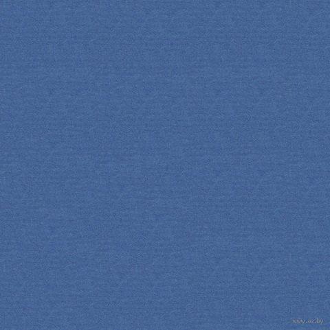 """Бумага подарочная в рулоне """"Coloured Kraft"""" (цвет: синий)"""