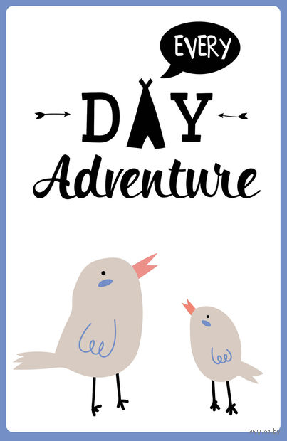 "Блокнот ""Every day adventure"" (А5) — фото, картинка"