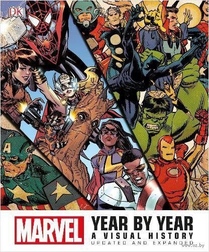 Marvel Year by Year. A Visual History — фото, картинка