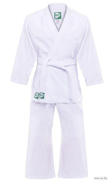 Кимоно для дзюдо MA-301 (р. 4/170; белое) — фото, картинка
