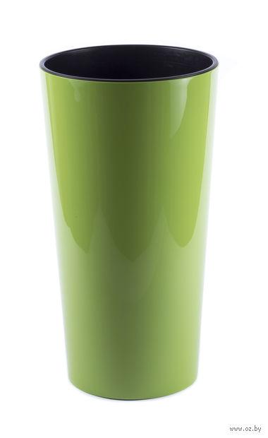 "Кашпо ""Lilia"" (19 см; ярко-зеленое) — фото, картинка"