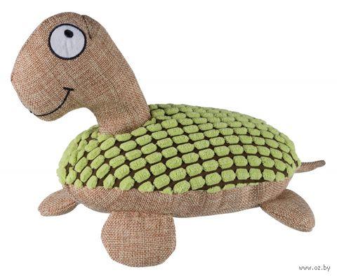 """Игрушка для собак с пищалкой """"Черепаха"""" (32 см) — фото, картинка"""
