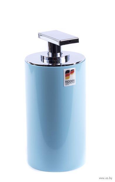 """Дозатор для жидкого мыла """"Paris Bright Blue"""" (200 мл) — фото, картинка"""