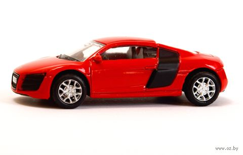 """Модель машины """"Audi R8 V10"""" (масштаб: 1/64) — фото, картинка"""