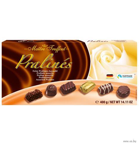 "Набор конфет ""Exquisite Pralines. Ассорти"" (400 г) — фото, картинка"