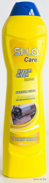"Крем для чистки стеклокерамики ""Лимон"" (500 мл) — фото, картинка"