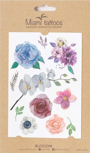 "Набор татуировок для тела ""Blossom"" — фото, картинка"