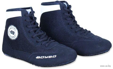 Обувь для борьбы (р. 40; чёрно-белая) — фото, картинка
