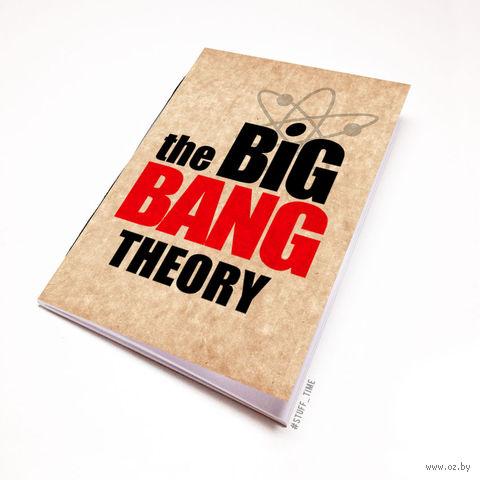 "Блокнот крафт ""Теория большого взрыва"" (А7; арт. 094) — фото, картинка"