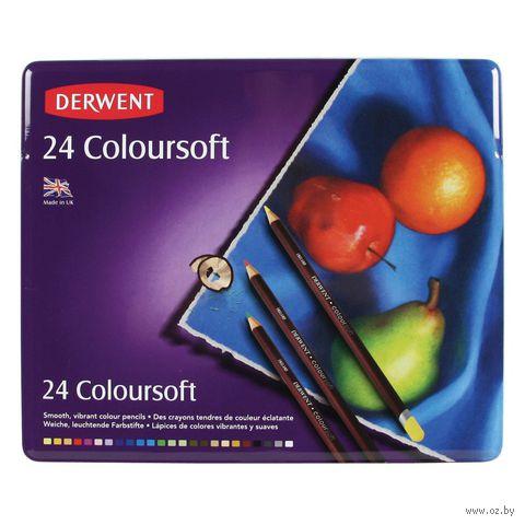 Цветные карандаши Coloursoft (24 цвета)