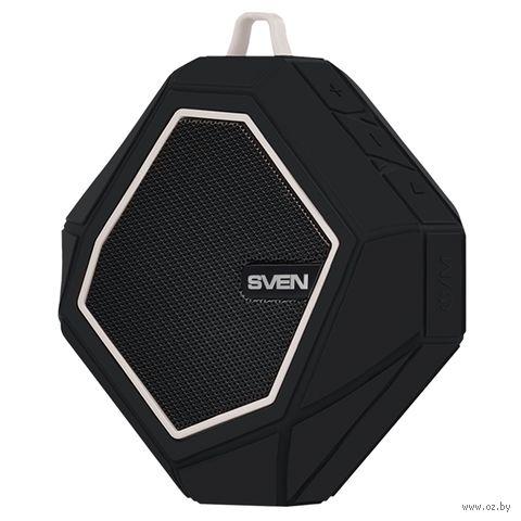 Колонка беспроводная Sven PS-77 (черно-белая) — фото, картинка