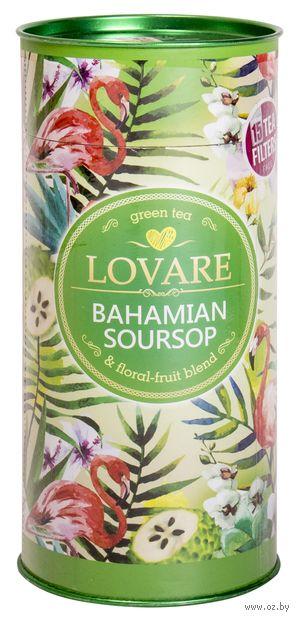 """Чай зеленый листовой """"Lovare. Багамский саусеп"""" (80 г; в банке) — фото, картинка"""